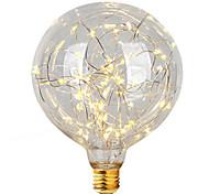 1 unids e27 g95 luz de la estrella 3 w llevó bulbos del filamento luces de la secuencia de la navidad luces decorativas del día de fiesta ac85-265v