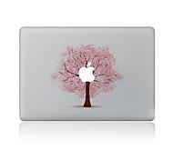 1 pieza Anti-Arañazos Flor De Plástico Transparente Adhesivo Diseño ParaMacBook Pro 15'' with Retina MacBook Pro 15 '' MacBook Pro 13''