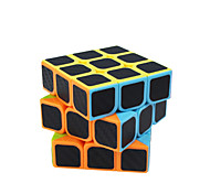 cheap -Rubik's Cube Carbon Fiber 3*3*3 Smooth Speed Cube Magic Cube Puzzle Cube Matte Sticker Square Gift Unisex