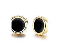 cheap -Women's 18K Gold Stud Earrings - Personalized / Classic / Euramerican As Picture Geometric Earrings For Christmas Gifts / Party / Special