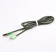 Недорогие -Micro USB 2.0 USB 2.0 Адаптер USB-кабеля Компактность Кабель Назначение Samsung Huawei LG Nokia Lenovo Motorola Xiaomi HTC Sony 100 cm