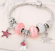 cheap -Charm Bracelet Alloy Rhinestone Star Teardrop Fashion Women's Jewelry 1pc