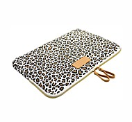 cheap -Sleeves for Leopard Print Canvas New MacBook Pro 15-inch / New MacBook Pro 13-inch / Macbook Pro 15-inch