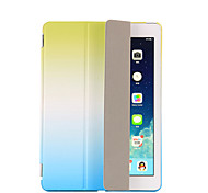 cheap -Case For Apple with Stand Auto Sleep / Wake Flip Origami Full Body Cases Color Gradient Hard PU Leather for iPad 9.7 (2017) iPad Pro