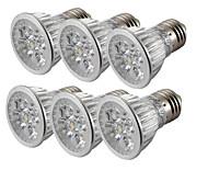 cheap -4W 360 lm E26/E27 LED Spotlight 4 leds High Power LED Cold White AC85-265