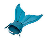 Diving Fins Swim Fins Snorkeling Packages Adjustable Fit Quick Release Mermaid Swimming Diving / Snorkeling TPR silicone for Women's Kids'