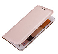 For Samsung A7 2017 A5 2017 Luxury Card Holder Flip Case Full Body Case Solid Color Hard PU Leather A3 2017 A7 2016 A5 2016 A3 2016