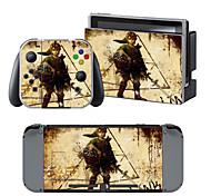 B-SKIN 任天堂 Switch/NS Autocollant pour Nintendo Commutateur Portable Nouveautés #