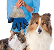cheap -1PCS Pet Grooming Dogs Glove Shedding Hairs Stick Making Pets Hair Cleanup