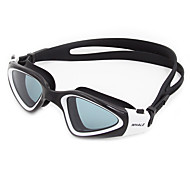 Swimming Goggles Anti-Fog Anti-Wear Waterproof Adjustable Size Anti-UV Scratch-resistant Shatter-proof Anti-slip Strap Silica Gel PC