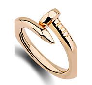 anéis da faixa do anel das mulheres único design de moda Euramerican personalizado estilo simples liga de zinco jóias irregular para o