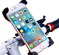 cheap -Motorcycle Bike Outdoor Universal Mobile Phone Mount Stand Holder Adjustable Stand Universal Mobile Phone ABS Holder