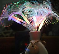 2.5M 10Led Morning Glory Fiber Optic Battery Led String Strip Night Light Lamp Party Holiday Wedding Decor  Led Light