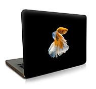 Недорогие -Для macbook air 11 13 / pro13 15 / pro с retina13 15 / macbook12 рыба описание apple кейс для ноутбука