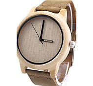 Жен. Модные часы Наручные часы Уникальный творческий часы Повседневные часы Часы Дерево Японский Кварцевый Японский кварц деревянный