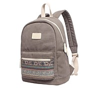 13.3-15.4 inch Bohemian Style Stitching Computer Bag Backpack Bag for Surface/Dell/HP/Samsung/Sony etc
