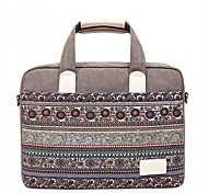 "cheap -Canvas Bohemian Style Mixed Color Handbags Shoulder Bag 15"" Laptop"