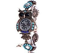 Vintage Quartz Watches Luxury Brand Owl Fashion Women Bracelet Watch Designer Watches Beautiful Girl Gift Watch