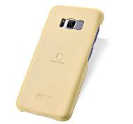 preiswerte -Hülle Für Samsung Galaxy S8 Plus S8 Stoßresistent Ultra dünn Rückseite Volltonfarbe Weich PU-Leder für S8 Plus S8
