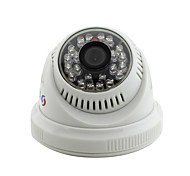 YanSe® CCTV Home Surveillance IR Cut Dome Security Camera - 24PCS Infrared LEDs