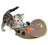 Недорогие -Игрушка для котов Игрушки для животных Интерактивный Игровая мышь Когтеточка Прочный Ткань Для домашних животных