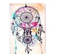 For Apple iPad Pro 9.7'' iPad 5 iPad 6 Case Cover Wind Chimes Pattern Card Stent PU Material Flat Protection Shell
