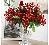 Недорогие -1 ветка разноцветных аравийских бобов растений настольный цветок искусственные цветы
