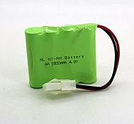 Nickel Hydrogen Battery Ni-Mh Aa 1800Mah 4.8V 557 Head 1 Pcs (Green Color)