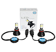 cheap -G5 H11 LED HEADLIGHT for CAR with 4SIDE COB CHIPS 40W POWER