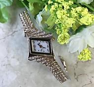 Women's Bracelet Watch Simulated Diamond Watch Chinese Quartz / Alloy Band Casual Rose
