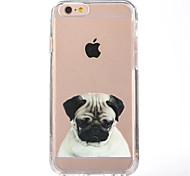 Для iphone 7 мультфильм собака ТПУ мягкая ультратонкая задняя крышка случае покрытия для Apple iphone 7 плюс 6s 6 плюс СЕ 5 5 5 4 CS 4