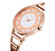 Women's Fashion Watch Quartz Water Resistant / Water Proof Stainless Steel Band Silver Gold Rose Gold
