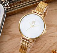 cheap -SK Women's Quartz Bracelet Watch Japanese Water Resistant / Water Proof Shock Resistant Metal Alloy Band Charm Luxury Vintage Creative