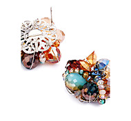 Women's Crystal Unique Design Personalized Euramerican Costume Jewelry Alloy Jewelry For Wedding Party Birthday Gift