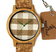 Мужской Модные часы Наручные часы Уникальный творческий часы Повседневные часы Часы Дерево Японский Кварцевый Японский кварц деревянный