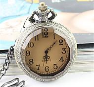 Недорогие -Муж. Кварцевый Наручные часы Карманные часы Повседневные часы сплав Группа Elegant Мода Серебристый металл