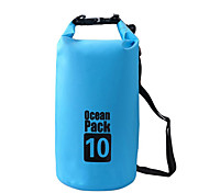 10 L Waterproof Dry Bag Dry Bag Waterproof Wearable for Climbing Swimming Beach Camping & Hiking