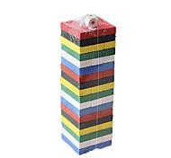 Недорогие -Конструкторы Игры с блоками Пирамида Игрушки Квадратный Баланс Детские 1 Куски