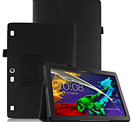 cheap -Case For Lenovo Full Body Cases Tablet Cases Hard PU Leather for