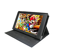 Adjustable Angle Hybrid Leather Case Cover for Switch NS Console Anti-skid and Scratch Leather Protector