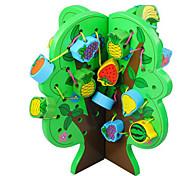 Недорогие -Набор для творчества Конструкторы Обучающая игрушка Для получения подарка Конструкторы Дерево 2-4 года 5-7 лет Игрушки