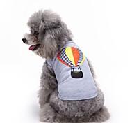 Недорогие -Коты Собаки Футболка Жилет Одежда для собак Лето Вышивка Милые Мода На каждый день