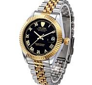 Tevise Мужской Для пары Модные часы Механические часы С автоподзаводом Календарь Защита от влаги Светящийся швейцарцы Оригинальный рисунок