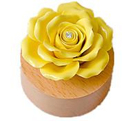Недорогие -музыкальная шкатулка Игрушки Розы Керамика Дерево Куски Универсальные Подарок