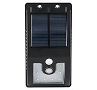 Недорогие -1шт на открытом воздухе солнечной энергии 10 SMD светодиоды движения датчик настенный светильник сада свет
