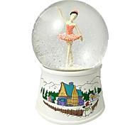 Недорогие -Мячи музыкальная шкатулка Игрушки Танцы Сфера Утка Хрусталь Резина Куски Универсальные День рождения Подарок