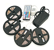 ZDM 20M(4*5M) Waterproof 96W 1200LEDs 2835 RGB Strip Flexible Light  44Key IR Remote Controller 8A Power Supply AC110-240V
