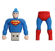 baratos -Novo cartoon criativo superman usb 2.0 8gb flash drive u memory stick disco