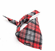 Dog Collar Adjustable / Retractable Breathable Training Running Hands free Safety Plaid/Check Love Fabric Red Green Pink