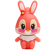 Hot New Cartoon Rabbit USB 2.0 16GB Flash Drive Memory Stick